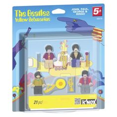 KNEX Live Nation Beatles Yellow Submarine Figures
