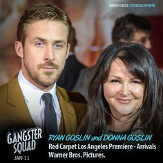 Ryan Goslin and Donna Goslin. IS DONNA HIS WIFE??? I DO NOT WATCH TV GOSSIPING, OR READ THE NEWSPAPERS OR MAGAZINES. AFTER 9/11, WAR BETWEEN HUTUS AND TUTSIES, CHECHENIAN WAR, AND BOMB CHILDREN IN MIDDLE EAST. SORRY!! i DO NOT LIKEE VIOLENCE!