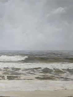 """30""""x40"""" Oceanscape by Adam Hall. Landscape oil painting"""