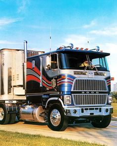 1985 Ford CL9000 COE Truck Photo Poster zc7839-RXIRZH