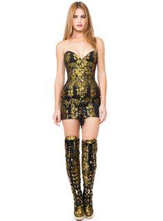 Maya Hansen. Shop. Black Edelweiss Corsetdress