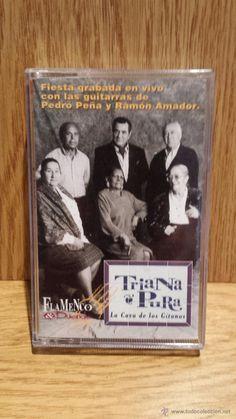 TRIANA PURA. LA CAVA DE LOS GITANOS. GRABADO EN VIVO. MC / FLAMENCO & DUENDE - 1998 / SIN USAR.
