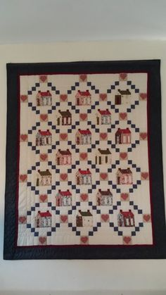 House exchange quilt House Exchange, Quilts, Blanket, Rugs, Home Decor, Farmhouse Rugs, Decoration Home, Room Decor, Quilt Sets