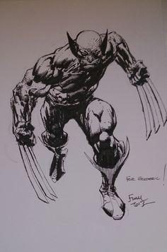Wolverine by David Finch * Hq Marvel, Marvel Comics Art, Marvel Heroes, Marvel Characters, Wolverine Images, Wolverine Art, Wolverine Tattoo, Comic Book Artists, Comic Artist