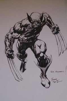 Wolverine by David Finch *