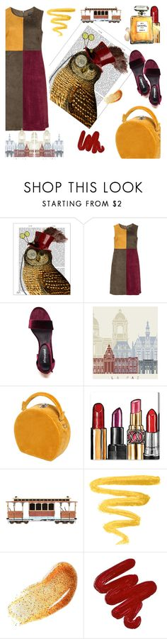 """""""Colormix"""" by j477 on Polyvore featuring мода, FabFunky, Manon Baptiste, Jeffrey Campbell, La Paz, Bertoni, Oliver Gal Artist Co., Chanel, Obsessive Compulsive Cosmetics и patchwork"""