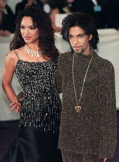 1999 from Prince: A Life in Pictures  Mayte Garcia, seen here, was married to Prince from 1996 to 2000.  In 1996, they had a son, Boy Gregory, who tragically died at just 1-week-old of natural causes.