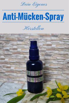 Dein Anti-Mücken Spray muss keine giftigen Chemikalien enthalten. Mit ein paar natürlichen Mitteln stellst du es schnell selbst her! #mücken #mückenspray #diy