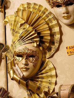 Venetian mask.