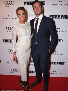 Cute couple: Elizabeth and Armie later attended the premiere of his movie Free…