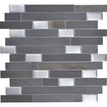 PARTHENON BLEND (GRAY SLATE WITH SILVER GLASS) OS02