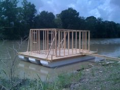 Homemade Houseboat For Sale