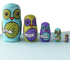 #Shana Logic              #design home              #Handmade #Gifts #Independent #Design #Vintage #Goods #Hand-painted #Nesting #Dolls #Always #Love #Home #Decor #Home              Handmade Gifts | Independent Design | Vintage Goods Hand-painted Nesting Dolls - Owl Always Love You - No. 3 - Home Decor - For The Home                                              http://www.seapai.com/product.aspx?PID=408072