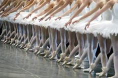 Dancers from Swan Lake.