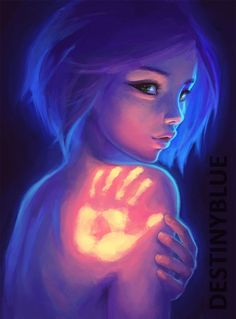 """""""Imprint"""" I really love most of DestintBlue's art, it has so much MEANING and feeling in each piece...:"""