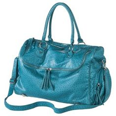 Bueno Weekender Bag - Turquoise Ostrich : Target Mobile