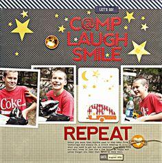 Camp laugh Smile Repeat | Jillibean Soup