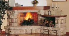 How to clean Brick Fireplace with Ordinary Household Items. Classic Fireplace, Old Fireplace, Fireplace Design, Fireplaces, How To Clean Brick, Aspen Wood, Autumn Home, Small Apartments, Beautiful Homes