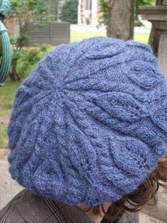 Birch Leaf beret