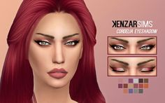 Kenzar Sims: Cordelia Eyeshadow • Sims 4 Downloads