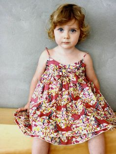 Cute dress (and toddler!)