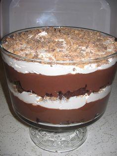Chocolate Trifle, my families fav
