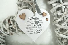 Mother Heart Beautiful Words - Divine Shabby Chic