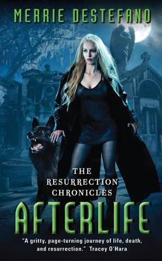 "Read ""Afterlife The Resurrection Chronicles"" by Merrie Destefano available from Rakuten Kobo. ""A haunting story that seamlessly blends the hard-boiled twists of cyberpunk with the noir flavor of a Southern Gothic t. Haunting Stories, Books To Read, My Books, Alternate Worlds, Southern Gothic, First Novel, Paranormal Romance, Fantasy Books, Book Nooks"