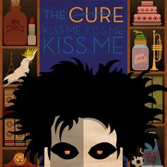 the CURE Kiss Me, Kiss Me, Kiss Me '87. I brought my little sis along-- it was her first show ever! :-)