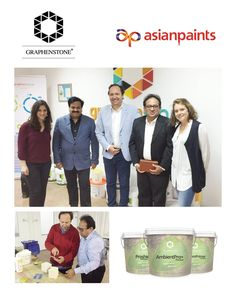 #ImportantNEWS: We've just signed a contract with India's largest and Asia's third largest paints corporation, Asian Paints. Today is a day to celebrate, our hard work is finally rewarded. After more than a year of tough negotiations, testing and improving our products, we finally reached this important agreement. They are going to market three of our star products: ProShield, Ambient Pro and AmbientPrimer.