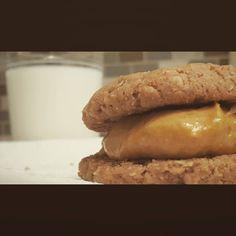 Pumpkin cream-filled cookies ftw #WhoAmI #IDontKnowAnymore