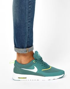Image 3 of Nike Air Max Thea Teal Trainers