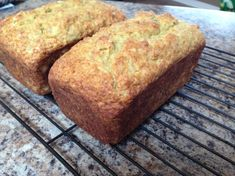 banana bread - sub 1/2 rice flour for arrowroot and ground flax seed
