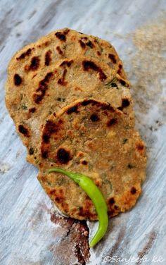 recipes millet flat bread and garlic spread more flatbreads tortillas ...