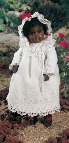 For the Love of Dolls, The Mildred Seeley Collection: 44 Brown-Complexioned Bebe, E.J., by Jumeau