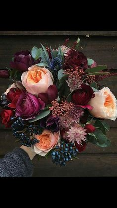 The perfect fall bouquet