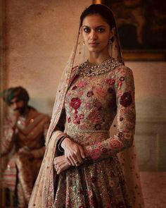 Sabyasachi Dresses Online on Happy Shappy. Browse great collection and images of beautiful and best Sabyasachi dress. Sabyasachi Dresses, Sabyasachi Bride, Anarkali Dress, Pakistani Dresses, Indian Dresses, Indian Outfits, Sarees, Lengha Choli, Lehenga Blouse