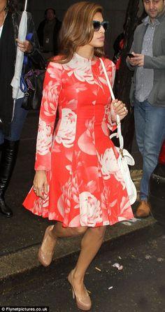 Eva Mendes #red #fame