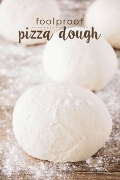 525 degrees- 4 minutes bottom rack and 4 minutes top rack. This foolproof pizza dough has only five ingredients and turns out perfect every single time! It's ready in less than thirty minutes, and makes for a perfect chewy and crisp crust. Five Ingredients, Snack, Deep Dish, Cooking Recipes, Skillet Recipes, Cooking Tools, Easy Pizza Dough Recipe, Pizza Pizza, Pizza Dough Bread Machine