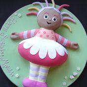 Upsy daisy birthday cake - for Heidi's second birthday