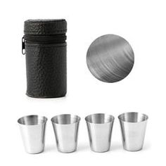 30ml Stainless Steel Camping Tableware Compact Size Cover Mug Camping Cups For Outdoor Travel Party 2018 Dropshipping Dependable Performance Campcookingsupplies