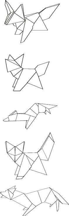 Foxes Draft Tattoo Ideas