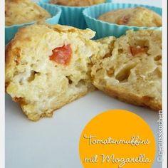 Mozarella-Tomatenmuffins