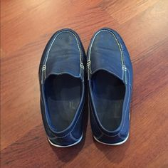 c6c282a8104 Shop Men's Rockport Blue size Loafers & Slip-Ons at a discounted price at  Poshmark. Description: Navy blue Rockport loafers, Slip-ons, Very  comfortable, ...