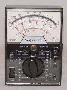 Simpson 160 - Volt - Ohm - Milliammeter