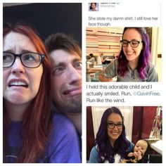 Meg and Gavin Achievement Hunter, Red Vs Blue, Still Love Her, Rooster Teeth, Gifts For Photographers, Flash Photography, Best Memories, Rwby, I Smile