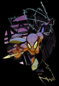 Jonboy007007 Spidey Color by MatthewRHumphreys.deviantart.com on @deviantART