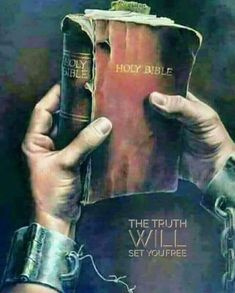 The Bible will set you free! La Sainte Bible, Prophetic Art, Biblical Art, Jesus Pictures, Bible Truth, God Jesus, Faith In God, Bible Scriptures, Trust God