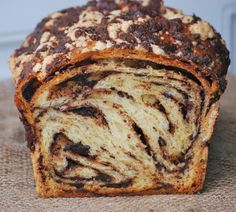 I distinctly remember the first time I ate a piece of chocolate babka bread.  It floored me.  I had a hard time wrapping my brain around the fact that it looked so sweet– like a dessert bread…