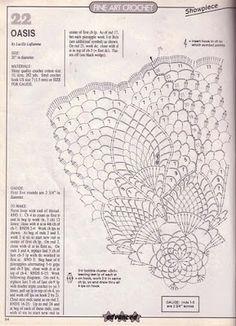 As 3 Artes: Centrinhos de mesa (Crochê) - Parte 02